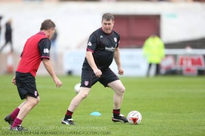 First friendly at gayfield v Carnoustie